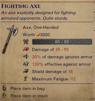 Fighting axe 0