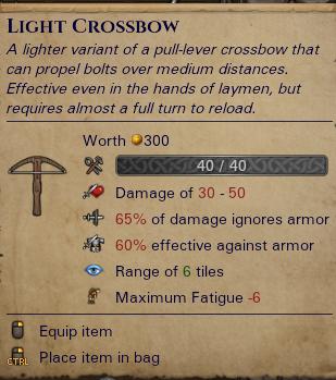 Light Crossbow