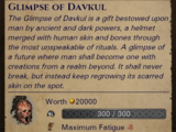 Glimpse of Davkul