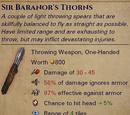 Unique Javelins