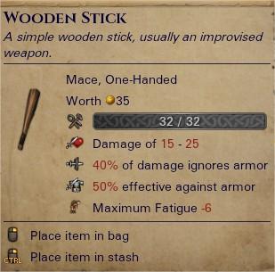 Wooden stick 0