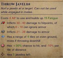 Crude javelins 1
