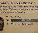 Plated Mail Hauberk