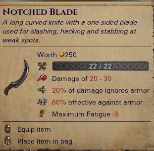 Notched Blade