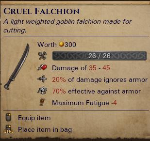 Cruel Falchion