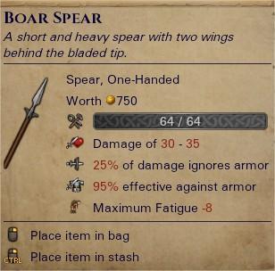 Boar spear 0