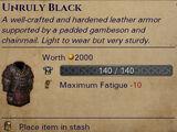 Hardened Leather Armor
