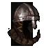 Padded Dented Nasal Helmet