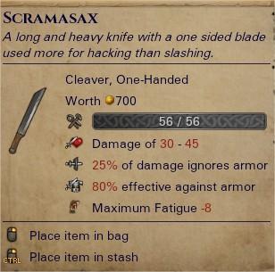 Scramasax 0