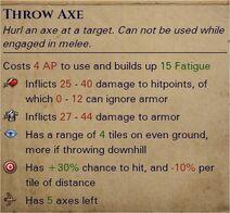 Throwing axes 1