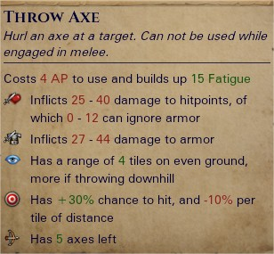 Throwing axes 1