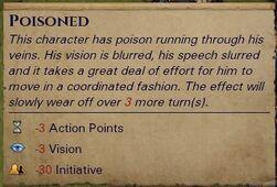 Poisoned effect