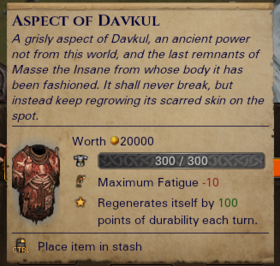 Aspect of Davkul