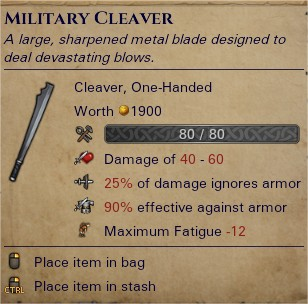 Military cleaver 0