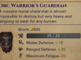 Named Orc Heavy Shield
