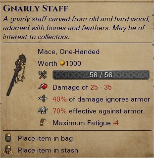Gnarly staff 0