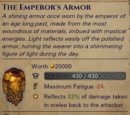 The Emperors Armor