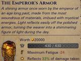 The Emperors Armor