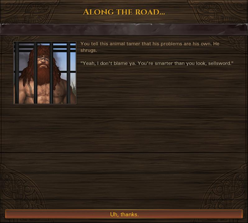 Imprisoned wildman event 03