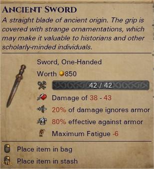 Ancient sword 0