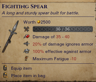 Fighting Spear