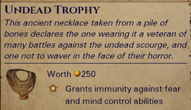 Undead-trophy