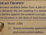 Undead Trophy