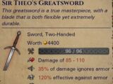 Named Greatsword