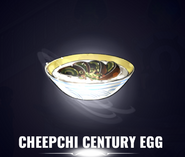 Cheepchi Century Egg