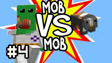 Minecraft 100 Floobs (Aliens) vs 100 Guinea Pigs Mob vs Mob & 100k Thank You
