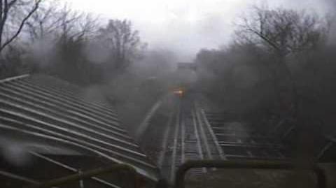 Train vs. Tornado - Spectacular!
