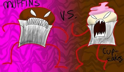 Muffins vs Cupcakes 1089555