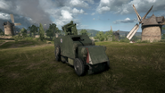 BF1 Artillery Truck Front