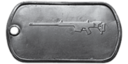BF4 M98B Master Dog Tag