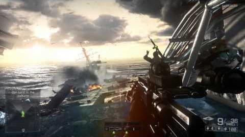 """Battlefield 4 - Vídeo oficial """"Angry Sea"""" de una partida para un jugador"""