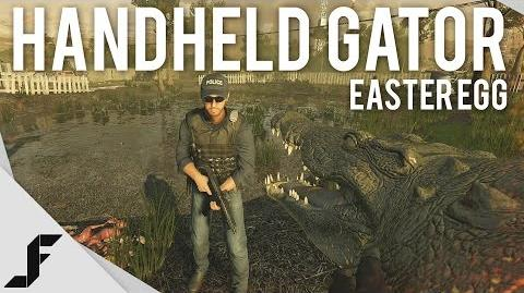Handheld Alligator - Battlefield Easter Egg