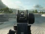 RO933 Iron Sights