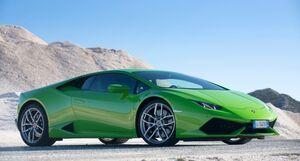 Lamborghini-huracan-green