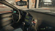 Police interceptor passenger
