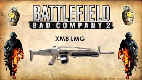 Battlefield Bad Company 2 - LMG Weapon Sounds