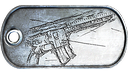 HK417 Mastery Dog Tag
