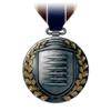 BF3 Light Machine Gun Medal