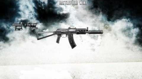 Battlefield Bad Company 2 - AKS-74u Krinkov Sound