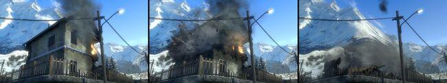 BFBC2 House collapsing destruction