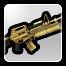 BFH Golden M16-203 Battle Rifle