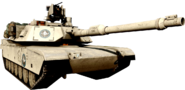 M1 Abrams 3rd Person Front