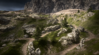 Monte Grappa Frontlines Hillside