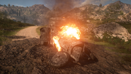 BF1 F.T Armored Car Destroyed
