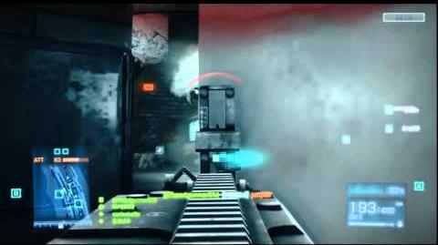 Battlefield 3 - M60 Gameplay