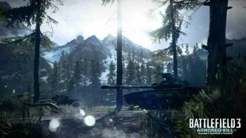 Battlefield 3 Alborz Mountains Loading Screen